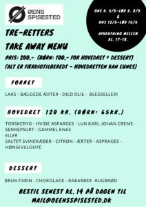 take away menu 5 til 15 maj torskeryg